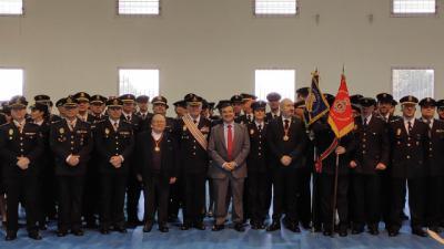 La Real Orden de Caballeros de San Cristóbal condecora a la Policía Nacional CLM