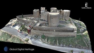CASTILLO DE CONSUEGRA | El modelo en 3D que triunfa en el mundo