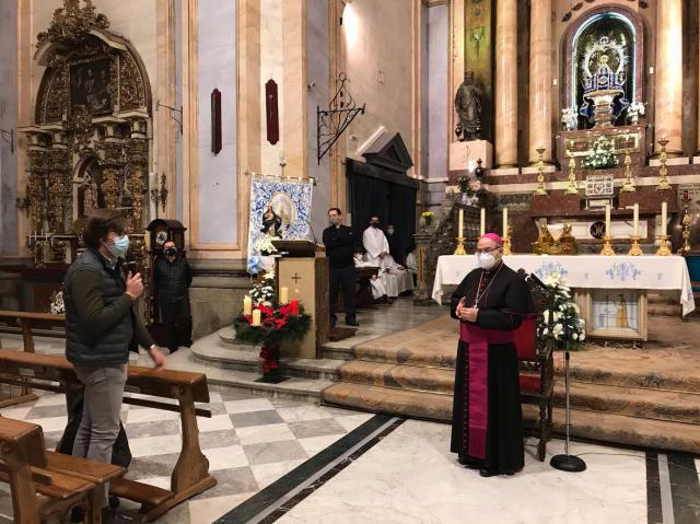 TALAVERA | El arzobispo preside la vigilia de la Inmaculada