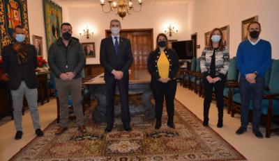 FÚTBOL | La Diputación de Toledo concede al CF Talavera 25.000 euros