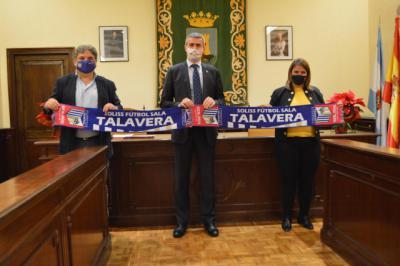 FUTSAL | La Diputación de Toledo ayuda al Soliss FS Talavera con 20.000 euros