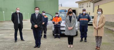 CEBOLLA | Protección Civil recibe uno de los 12 equipos electrógenos distribuidos por el Gobierno regional