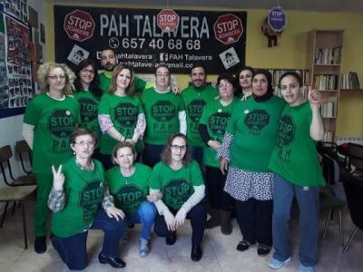 La Plataforma de Afectados por la Hipoteca de Talavera cumple 6 años