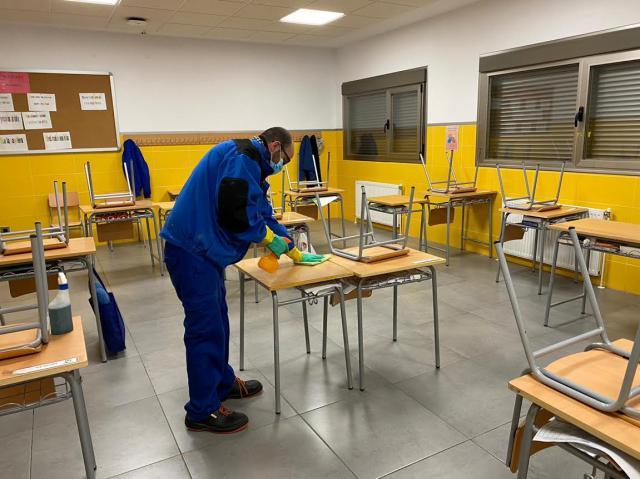 TALAVERA | El Ayuntamiento trabaja en la 'puesta a punto' de los colegios ante el inicio de las clases