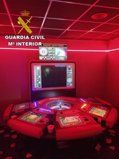 EN LOCALIDADES DE TOLEDO | Detenidos por manipular la ruleta en salas de juegos