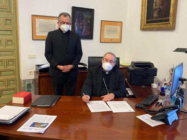 """TOLEDO   El arzobispo crea el """"Fondo de ayuda a los monasterios de la Archidiócesis"""""""