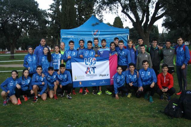 La UDAT logra un 5º puesto de los sub23 en el Campeonato de España de Campo a Través