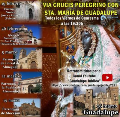 RELIGIÓN | Estos son los 6 lugares donde se realizará el Vía Crucis de Guadalupe, uno en Talavera