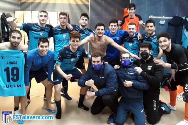 FUTSAL | El Soliss FS Talavera sella su pase a la final del Trofeo JCCM a lo Nadal