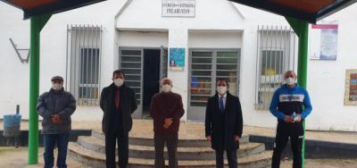 COLEGIOS RURALES AGRUPADOS | El delegado provincial de Educación visita Pelahustán