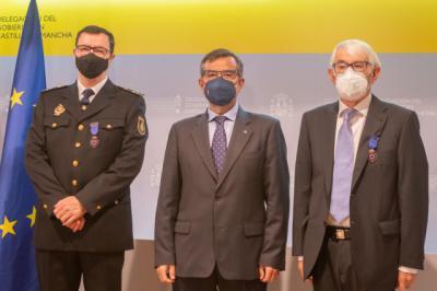 CRUZ ROJA Y POLICÍA | Esteban y Delgado, medallas al Mérito de la Protección Civil