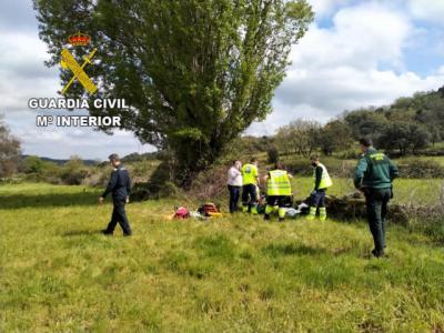 EL REAL DE SAN VICENTE | Localizan con vida a un motorista desaparecido tras un accidente
