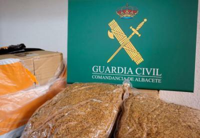 CONTRABANDO | Intervenidos 177 kilos de picadura de tabaco
