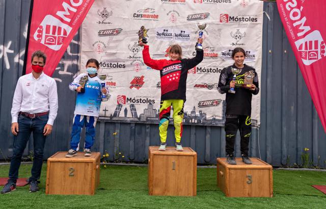 BMX TALAVERA   Plata para Aiby Hiniesto en el Campeonato de Madrid