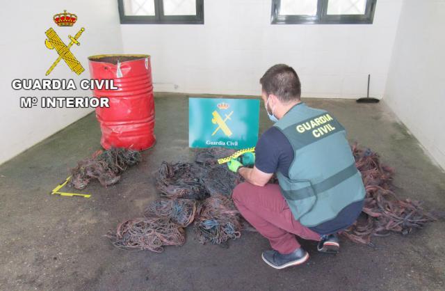Roban más de 1.300 kilos de cobre en 7 pueblos de la comarca de Talavera