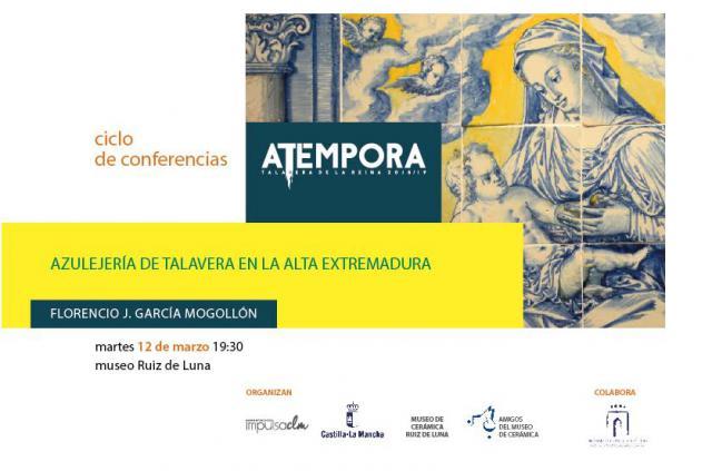 Última conferencia sobre la cerámica de Talavera del 'Ciclo 'aTempora'
