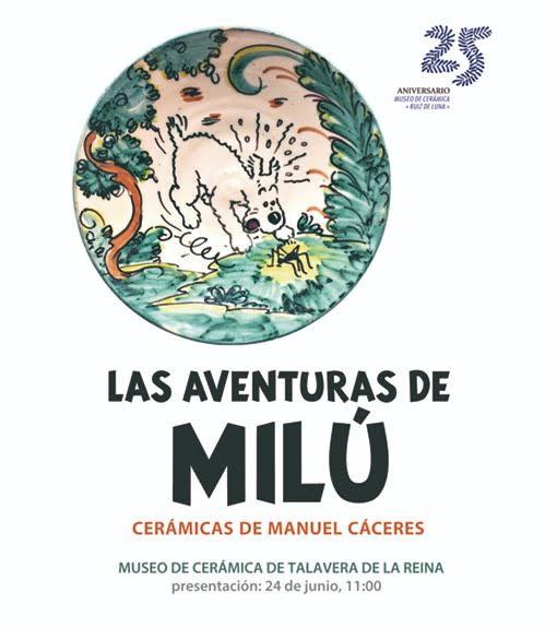 'Las aventuras de Milú', el perro de Tintín, en el Museo Ruiz de Luna