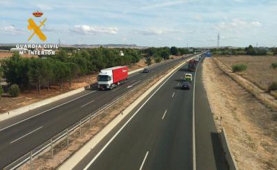 Detenida por conducir 47 kilómetros en sentido contrario