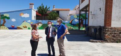 La Junta invertirá 20.000 euros en el colegio de La Nava de Ricomalillo
