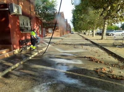 El Gobierno municipal adelanta el operativo especial de limpieza intensiva