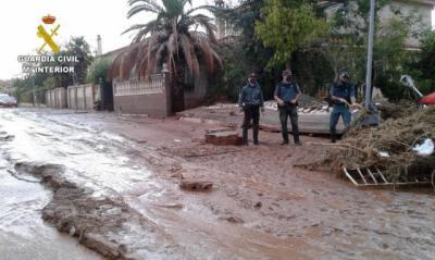 La Junta solicitará ayudas de emergencia por los daños de las tormentas