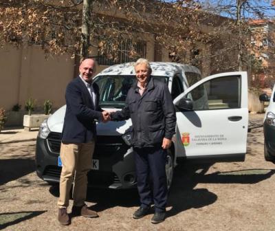 El Ayuntamiento adquiere tres vehículos para la Concejalía de Medio Ambiente