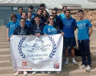 Brillante participación de los 15 integrantes del CN Talavera en la Liga Territorial