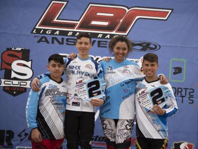 Nueva cosecha de medallas para el Club BMX Talavera