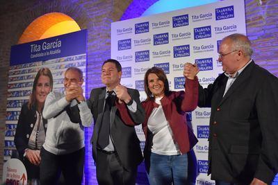 La presentación de Tita García como candidata a la Alcaldía de Talavera en imágenes