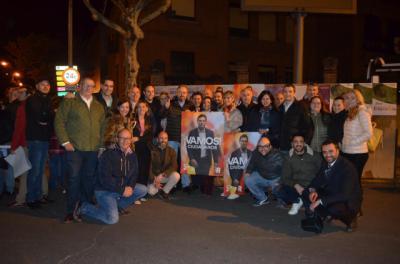 Ciudadanos | Girauta inicia su campaña en Talavera