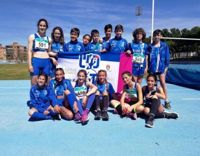 El equipo Sub 14 masculino de la UDAT se proclama campeón provincial y el femenino termina tercero
