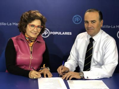 Carmen Riolobos y José Julián Gregorio