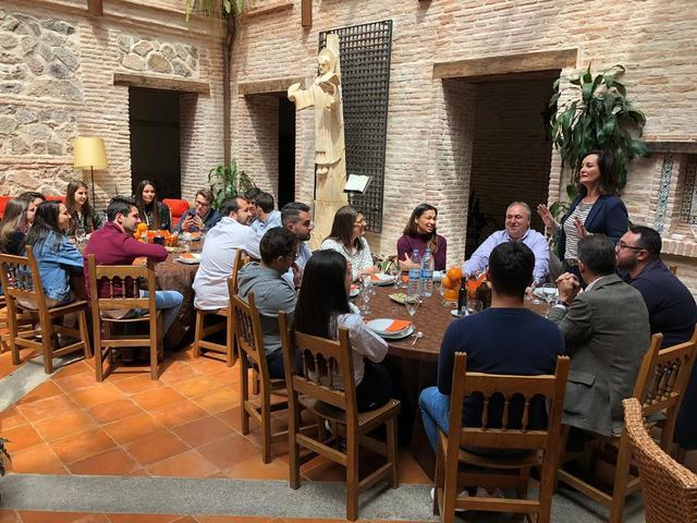 Tirado anima a los jóvenes a votar a Casado: 'sinónimo de creación de empleo y de una España unida'