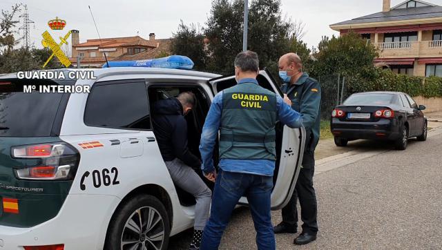 TALAVERA | La imagen del detenido por estafar 265.000 euros productos sanitarios
