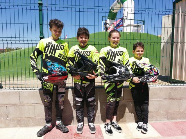 Gran actuación de 'Los Pinos' en la III Copa de Madrid BMX