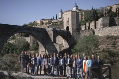 Este es el equipo de Esteban Paños y Cs para lograr la Alcaldía de Toledo