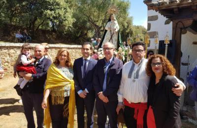 La Diputación destaca la tradición popular de la romería de Parrillas