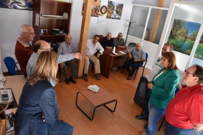 El PSOE se reúne con ACOTE para recoger las propuestas de la asociación y atender sus demandas