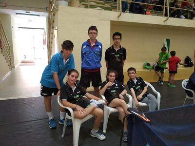 El tenis de mesa talaverano logra tres títulos en el Campeonato Regional