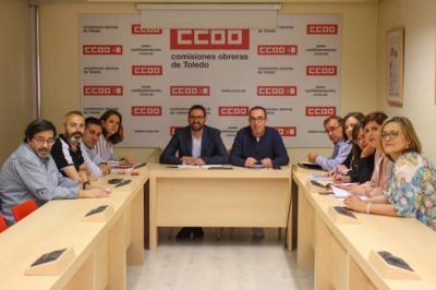PSOE y CCOO apuestan por la creación de empleo de calidad