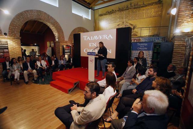 """Tita presenta su lista de """"apasionados por Talavera"""" para lograr la Alcaldía"""