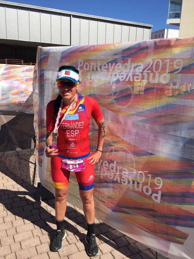 Sara Fernández, del CD Tritalavera, consigue el 7º puesto en el Mundial de Triatlón