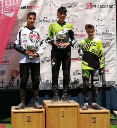 El club BMX Los Pinos consigue tres podios en la Copa de Madrid de BMX