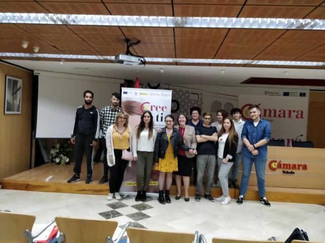 La Cámara de Comercio entrega en Talavera los diplomas correspondientes al curso 'Telemarketing'