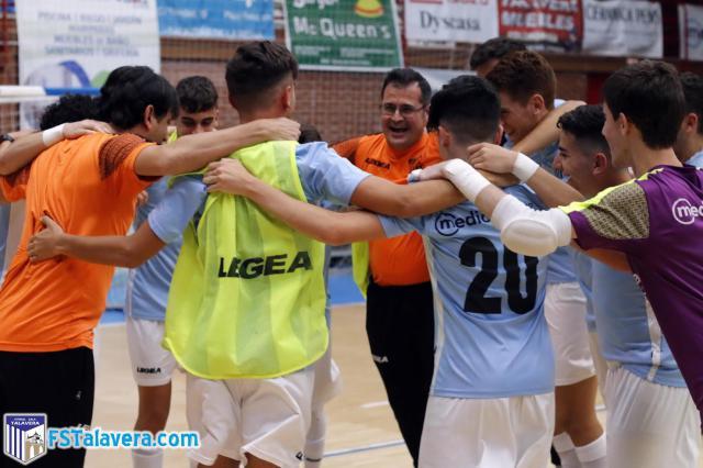 El FS Talavera Pisciébora logra la permanencia en División de Honor tras vencer al Ciudad de Toledo