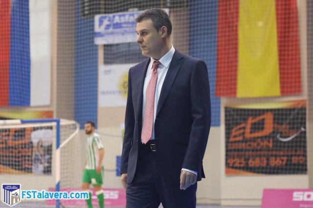 Raúl Aceña no será el técnico del Soliss FS Talavera la próxima temporada