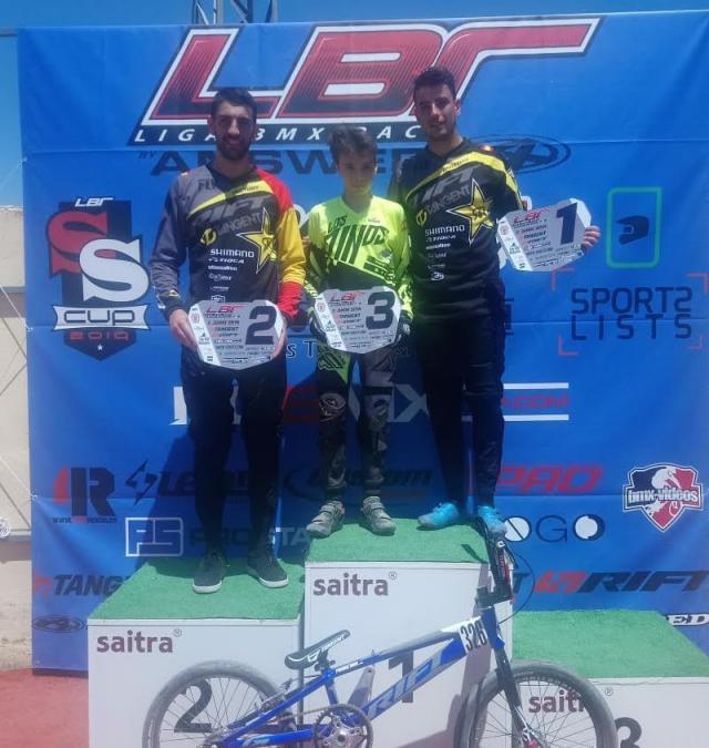 Notable actuación de los riders del Club BMX Los Pinos en la Liga Nacional