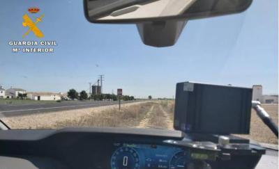 Pillado cuando circulaba a 191 kilómetros por hora en un tramo de 90