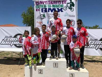 Gran actuacuón del BMX Los Pinos en el Campeonato de CLM celebrado en El Casar de Talavera