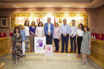'No más violencia contra las mujeres', la campaña que une a 10 Ayuntamientos de la comarca de Talavera